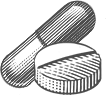 Pill and Capsule Icon